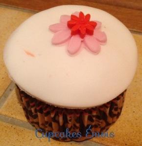 Cupcake Petite Fleur Rouge