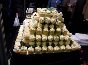 Pyramide de gâteaux