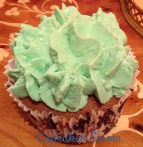 Cupcake vert topping Philadelphia