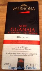 Chocolat noir Valrhona