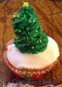 cupcake sapin de noel 1