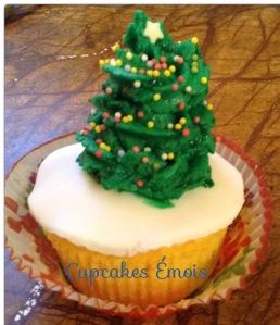 cupcake sapin de noel 2