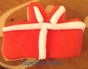 paquet cadeau pâte à sucre